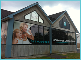 outside the cornwall dental clinic